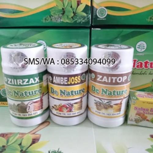 Foto Produk Obat Herbal De Nature Fistula Ani dan Salep Salwa Djie dari Toko De Nature Ampuh
