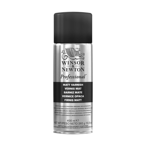Foto Produk Winsor & Newton Professional Matt Varnish 400ml Spray Can dari Dreamshop