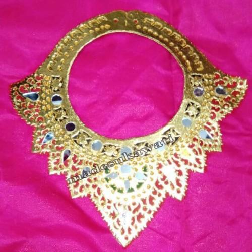 Foto Produk Badong kalung Tari adat Bali Bahan Karton Rolex dari made sukawati