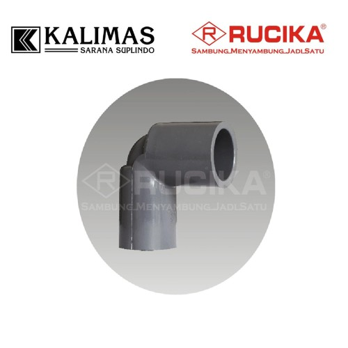"Foto Produk Elbow / Knie PVC AW (RUCIKA) d. 3/4"" x 90 deg dari kalimas.online"