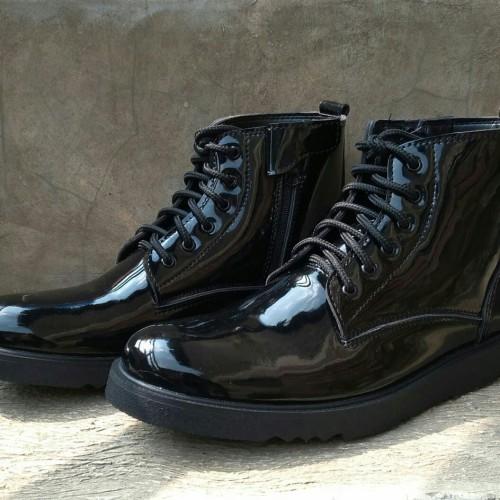 Foto Produk sepatu pdh dinas kerja kantoran - Hitam, 39 dari Muggia Shoes