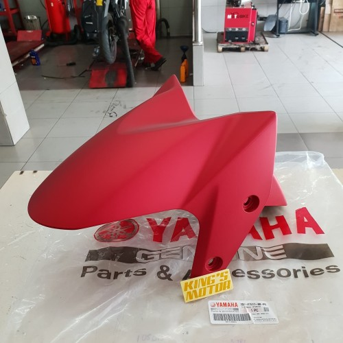 Foto Produk SPAKBOR DEPAN NMAX, N-MAX MERAH DOFF ASLI YAMAHA dari King'S Motor