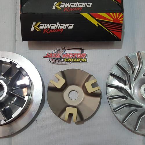 Foto Produk Kawahara pulley pully racing Yamaha Nmax dari Jaya Motor Cikupa