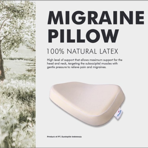 Foto Produk Dunlopillo Migraine Pillow dari DUNLOPILLO