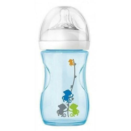 Foto Produk Avent Botol Susu Natural 260ml (9oz) untuk 1m+ (Biru Motif) dari Yen's Baby & Kid Official Shop