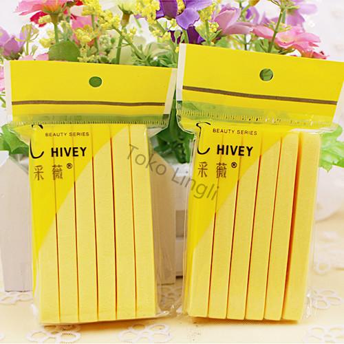 Foto Produk Spon Facial / Spon Stick / Pembersih Wajah / Spon Hivey / Spons Wajah - Merah Muda dari tokolingli