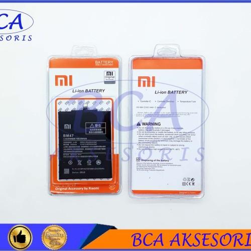 Foto Produk BATTERY BATRE BATERAI XIAOMI REDMI 3 - BM47 ORIGINAL dari BCA AKSESORIS