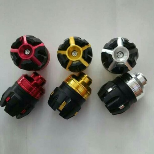 Foto Produk Jalu As Roda Depan / Cover As Roda Depan / Bandul Variasi Roda Depan dari Panca Motor Variasi