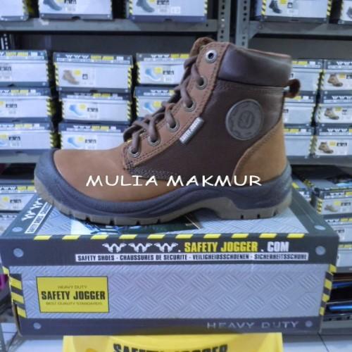 Foto Produk Sepatu Safety Jogger Dakar S3 Brown (Coklat) dari Mulia Komputer