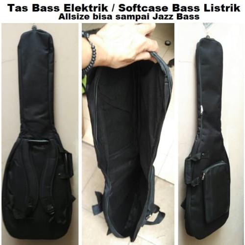 Foto Produk Tas Gitar / Softcase Gitar Bass Elektrik dari Tukang Tas Bandung