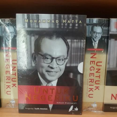 Foto Produk Boxset Buku Untuk Negeriku Sebuah Otobiografi Mohammad Hatta (3 Jilid) dari Showroom Books