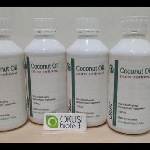 Foto Produk New Pure Coconut Oil - Minyak Kelapa Murni - 1 Liter dari Anggis Shop.ID