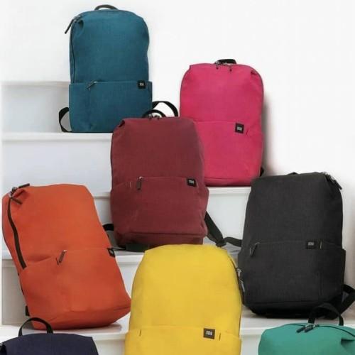 Foto Produk Tas Xiaomi Trendy Solid Color Water Resistant Backpack xiaomi bag dari Toko518