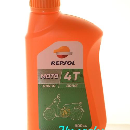 Foto Produk Oli Repsol Moto 4T Matic 10W-30 0.8L dari eagles