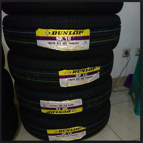 "Foto Produk Ban Mobil Dunlop 185/70 R14 SP10 Dunlop "" 10346 "" dari Jasutra motor"
