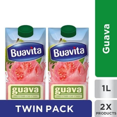 Foto Produk Buavita Juice Jambu 1000ML Twinpack dari Unilever Official Store