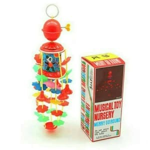 Foto Produk Mainan Anak Bayi - Musical Toy Nursery Merry Go Round Kerincingan Baby dari Toko DnD
