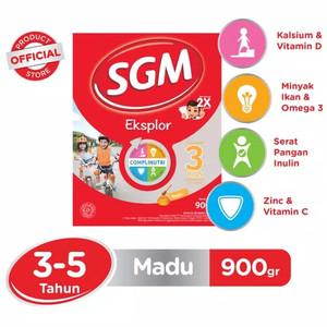 Foto Produk SGM EKSPLOR 3+ 900 GR - MADU dari Toko Susu Si Kembar