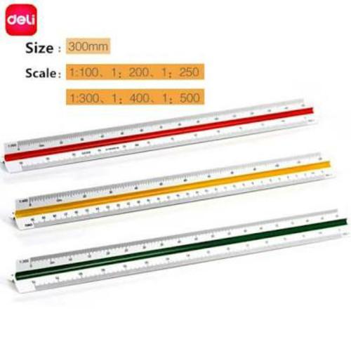 Foto Produk Deli scale ruler (penggaris skala deli) dari prime art and craft