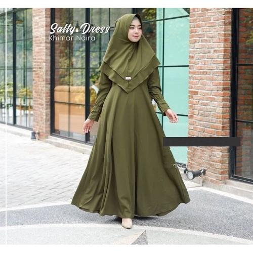 Foto Produk Baju Muslim GAMIS SYARI SALLY 2 IN 1 BEST SELLER dari AlexanderRucy store