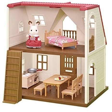 Foto Produk Cozy Cottage Red Roof my first starter home house Sylvanian Families dari D'Best Toys
