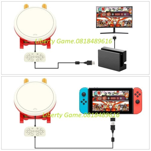 Foto Produk Nintendo Switch Taiko Drum (No Game) dari Suyanto//Liberty Game