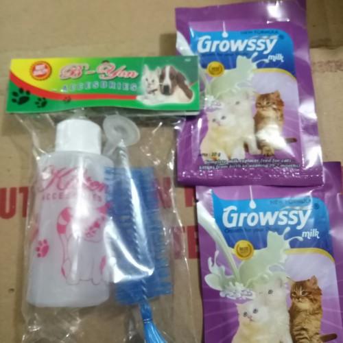 Foto Produk Paket dot susu kucing + susu growsy 2pcs dari CahyaNaya olshop