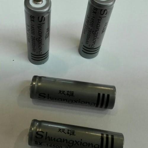 Foto Produk #Baterai baterai recharger 14500 AA A2 cas dari Rahma Online