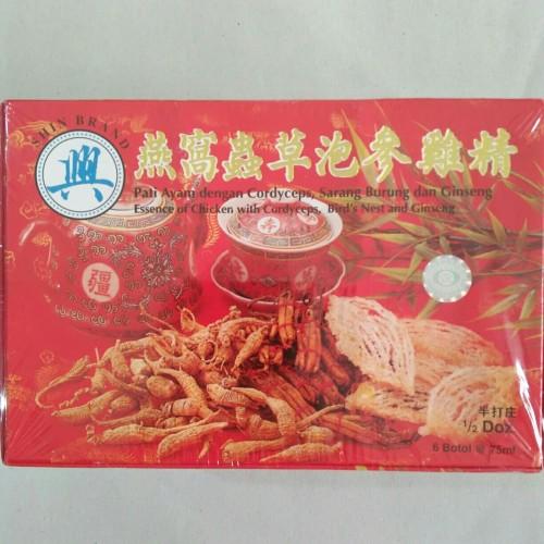 Foto Produk Saripati Ayam / Essence of Chicken Ginseng Birds Nest - Shin Brand dari Toko Ayam Mas