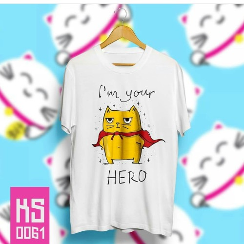 Foto Produk Kaos im your hero dari MiRage Shop