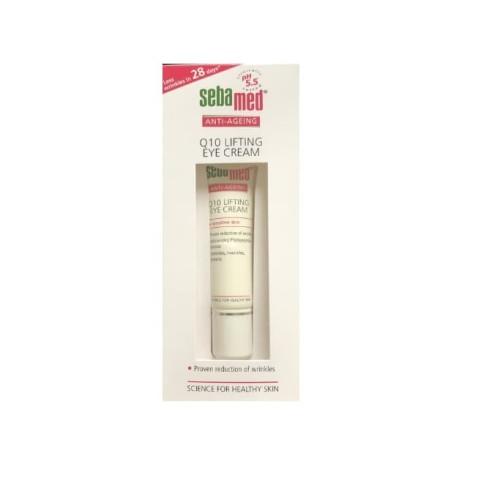 Foto Produk Sebamed Anti Ageing Q10 Lifting Eye Cream 15ml / Krim Mata Q 10 15 ml dari toku pedia