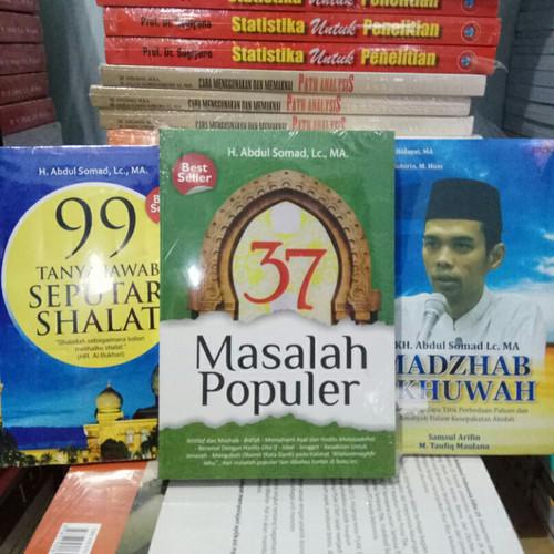 Foto Produk Buku - 37 MASALAH POPULER - 99 TANYA JAWAB - MADZHAB - Abdul Somad dari Revanda Book Collection