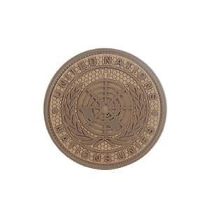 Foto Produk MOLAY UNITED NATION PVC Patch - COYOTE TAN dari Molay
