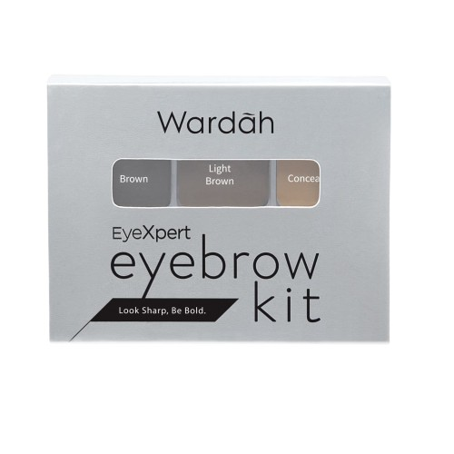 Foto Produk Wardah Eyexpert Eyebrow Kit 3 gr dari Wardah Official