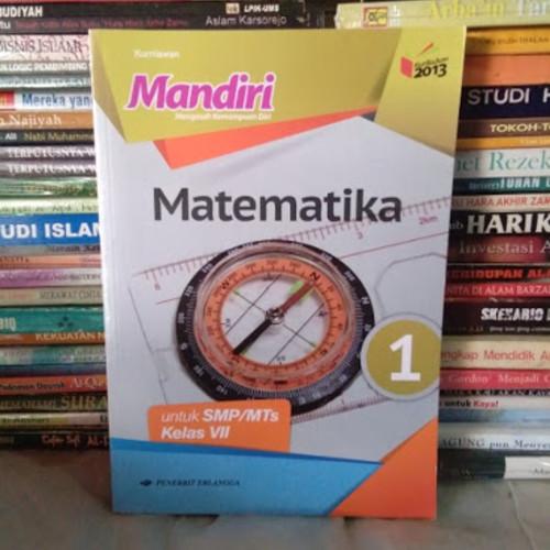Foto Produk Buku Mandiri Matematika kelas 7 revisi erlangga dari Toko buku Ramu