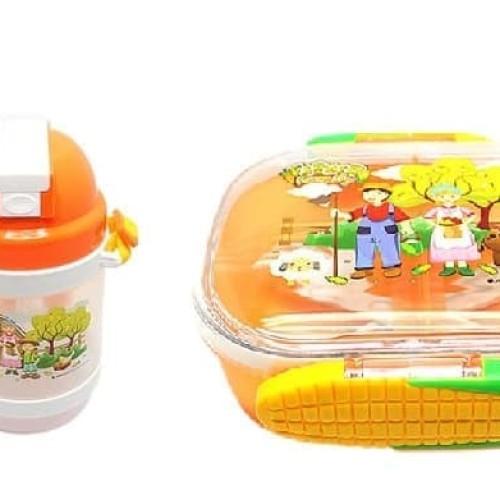 Foto Produk Arniss Kotak Makan + Botol Minum (CB-470,DB-0160) dari Rishab Str