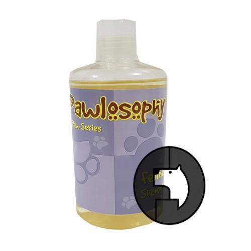 Foto Produk pawlosophy 500 ml cat feline shampoo dari F.J. Pet Shop
