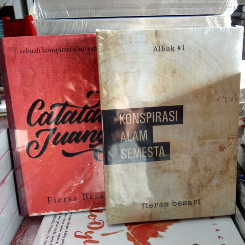 Foto Produk Novel - CATATAN JUANG - KONSPIRASI ALAM SEMESTA - FIERSA BESARI dari Revanda Book Collection