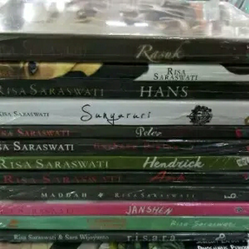 Foto Produk Novel - 12 Buku RISA SARASWATI - Hendrick - Peter - William dan lainya dari Revanda Book Collection