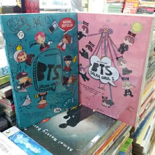 Foto Produk Novel 2 Buku - BTS SALAH GAUL 1 - BTS SALAH GAUL 2 - dari Revanda Book Collection