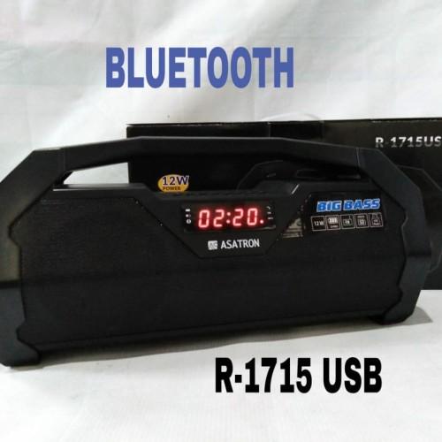 Foto Produk Speaker Bluetooth portable Asatron R 1715 multimedia+radio dari AP accesories