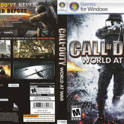Foto Produk Call Of Duty World At War PC Laptop dari SteamPunk