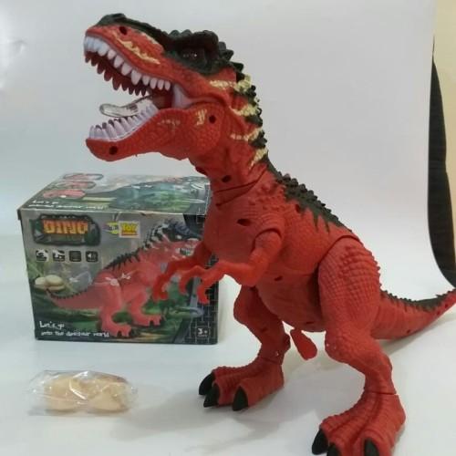 Foto Produk MAINAN DINOSAURUS TYREX BERTELUR TYRANOSAURUS DINOSAUR JURASIC NY018B dari Lucky 88 Toys