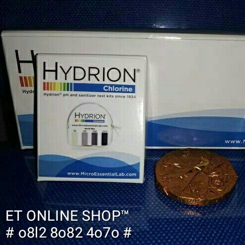 Foto Produk Teskit Chlorine | Kertas Uji Cepat Klorin Hydrion CM 240 Testkit Paper dari easytest