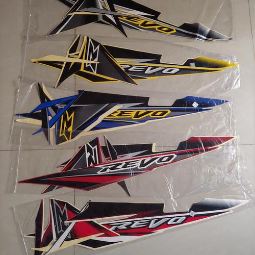 Foto Produk Stiker Bodi & Lis Body & Striping Revo 2008 Cw dari Lestari Motor 2