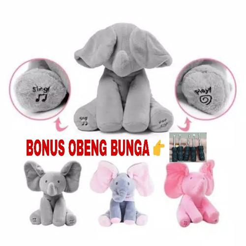 Foto Produk Boneka Music Gajah & Beruang Peek a boo dari STU SHOP88