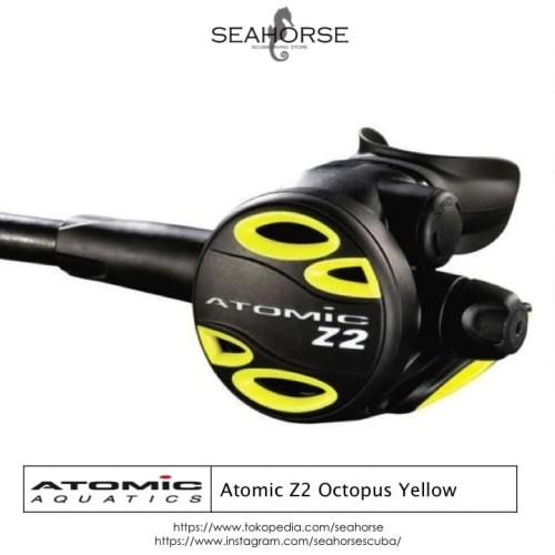 Foto Produk Atomic Z2 Octopus Yellow dari SEAHORSE Scuba Store