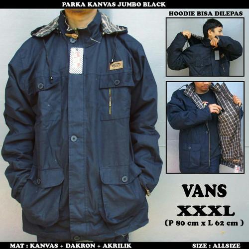 Foto Produk jaket parka big size XL-XXL-XXXL/parka jumbo vans dari playjeans