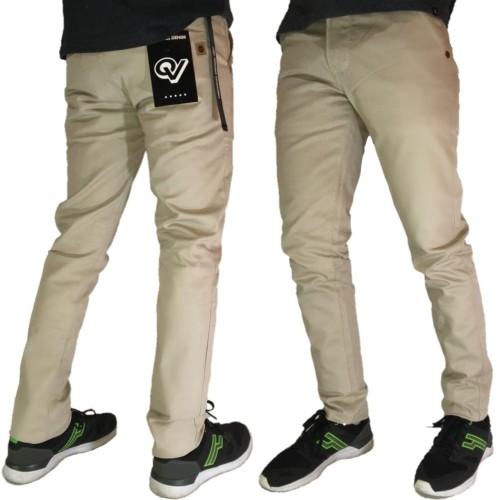 Foto Produk Celana cinos panjang melar pria trend dari playjeans