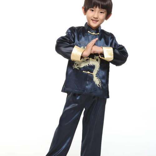 Foto Produk Baju Anak Setelan   Cheongsam boy anak china traditional imlek chinese dari hollyshop26